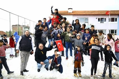 Çerçioğlu'ndan kar jesti 3