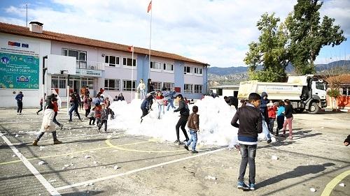 Çerçioğlu'ndan kar jesti 7