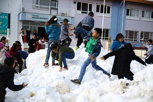 Çerçioğlu'ndan kar jesti 9