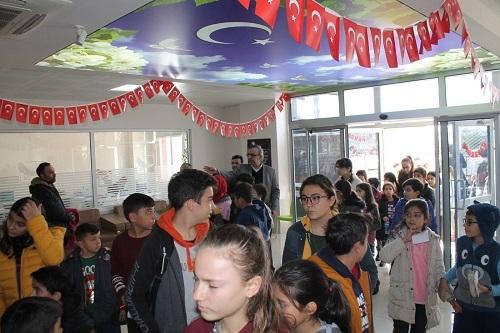 Nazilli Sınav Koleji'nin bursluluk sınavına 'rekor katılım' 10