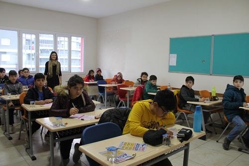 Nazilli Sınav Koleji'nin bursluluk sınavına 'rekor katılım' 4