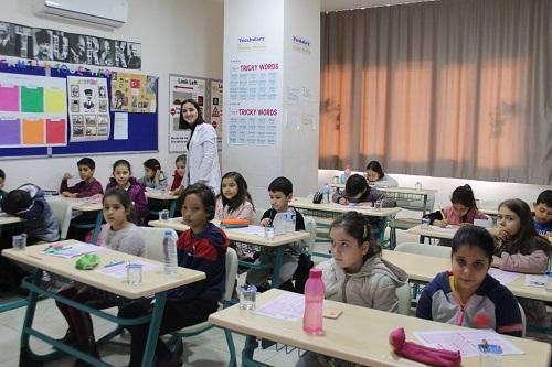 Nazilli Sınav Koleji'nin bursluluk sınavına 'rekor katılım' 8