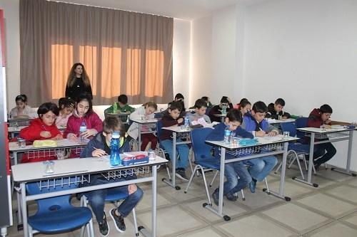Nazilli Sınav Koleji'nin bursluluk sınavına 'rekor katılım' 9