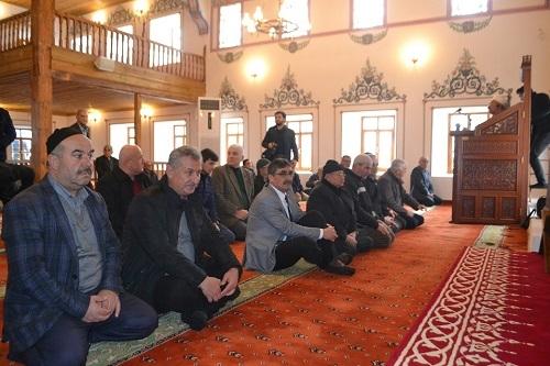 Restorasyonu tamamlanan tarihi cami ibadete açıldı 7