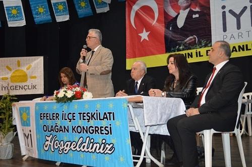 İYİ Parti Efeler'de yeni başkan Adıyaman oldu 6