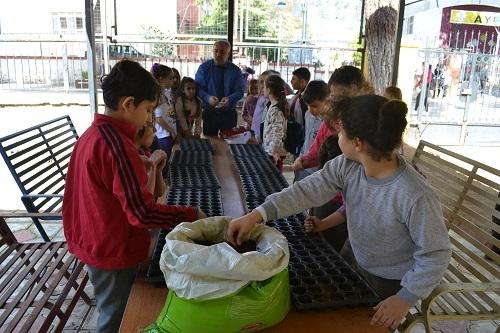 İlkokul öğrencileri yerel tohuma sahip çıktı 5