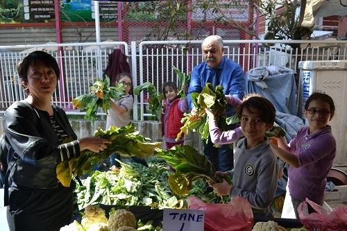 İlkokul öğrencileri yerel tohuma sahip çıktı 8