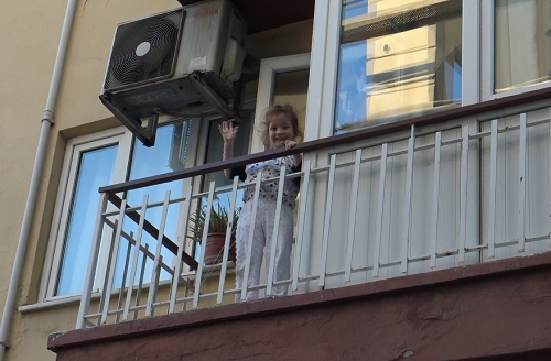Aydın'ın en eğlenceli apartmanı 6