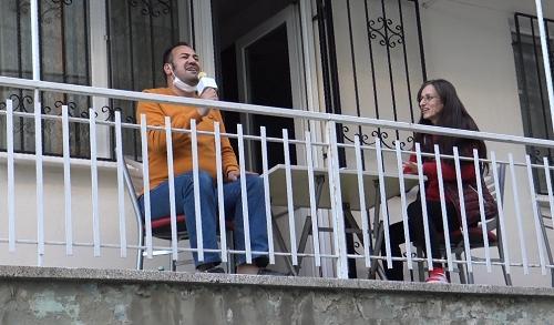Aydın'ın en eğlenceli apartmanı 7