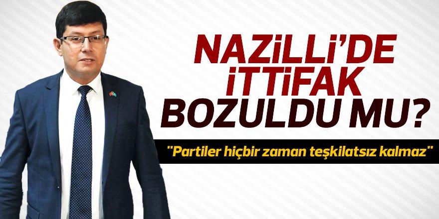 """Özcan, """"Partiler hiçbir zaman teşkilatsız kalmaz"""""""