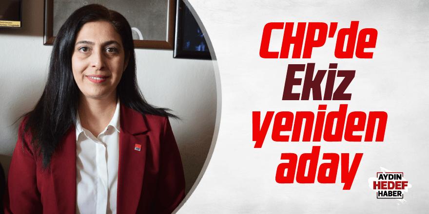 CHP'de Ekiz yeniden aday