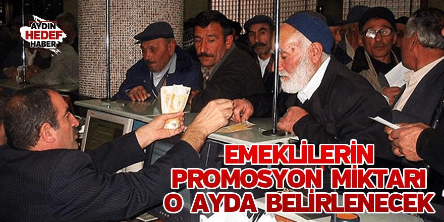 Emeklilerin promosyon miktarı Şubat'ta belirlenecek