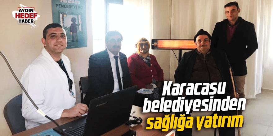 Karacasu belediyesinden sağlığa yatırım