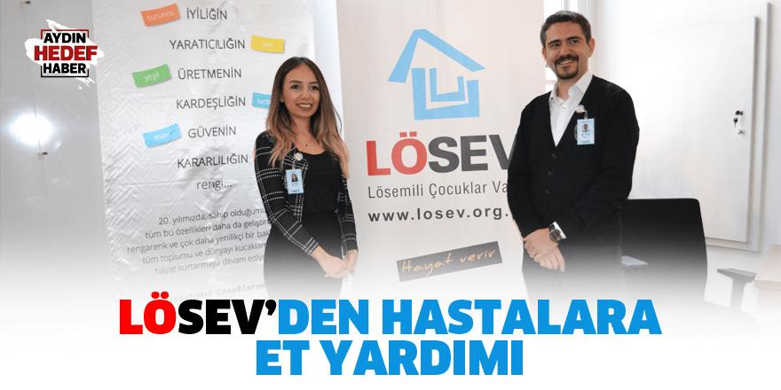 Lösev'den hastalara et yardımı