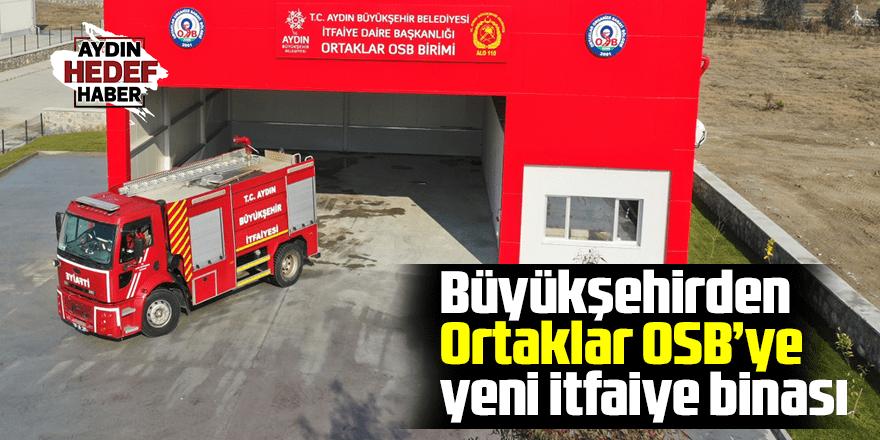 Büyükşehir'den Ortaklar OSB'ye yeni itfaiye binası