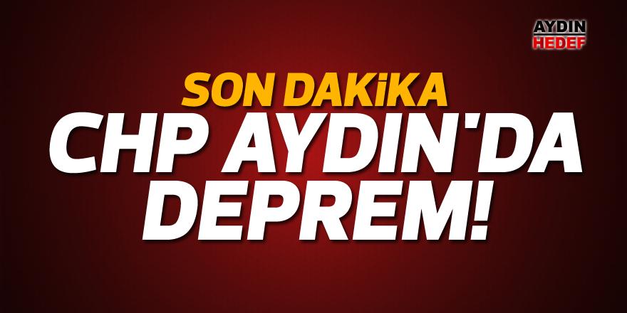 CHP Aydın'da deprem