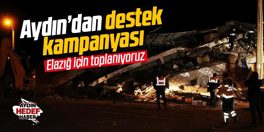Efeler Belediyesi'nden Elazığ'a destek