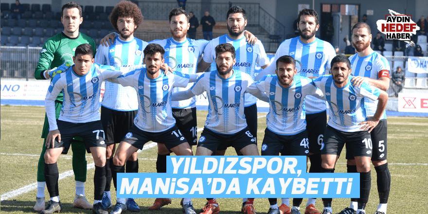 Yıldızspor, Manisa'da kaybetti