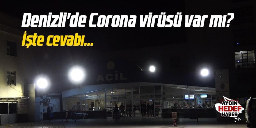 Denizli'de Corona virüsü var mı?