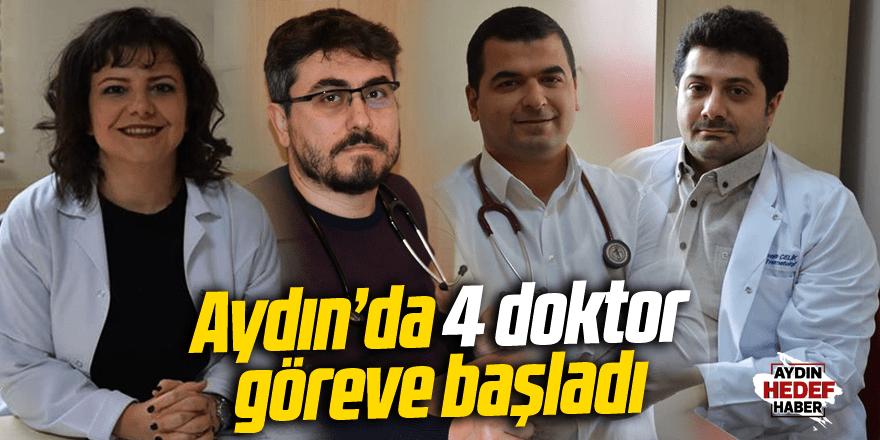 Aydın'da 4 doktor göreve başladı
