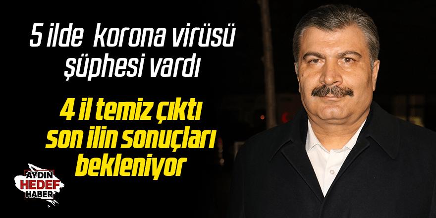 Türkiye'de korona virüs şüphesi