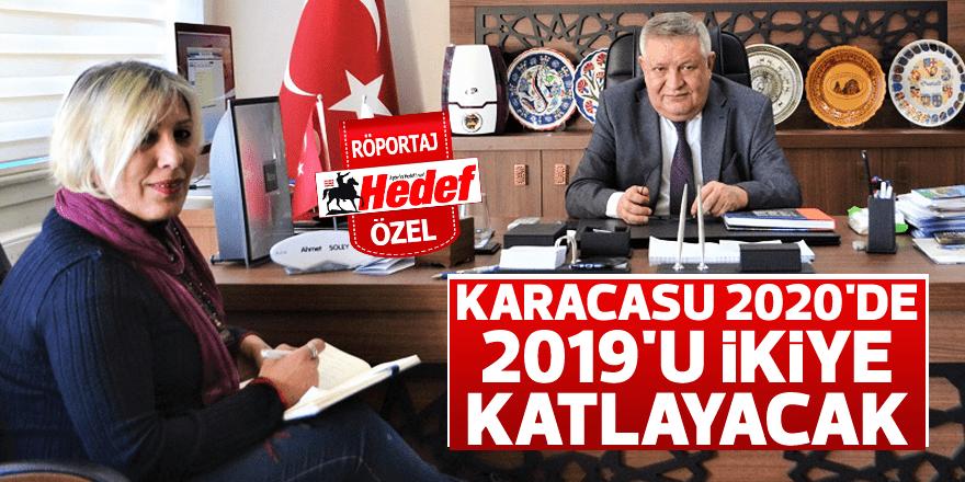 Karacasu 2020'de 2019'u ikiye katlayacak
