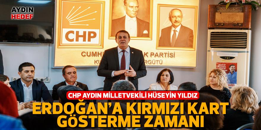 """""""Erdoğan'a kırmızı kart gösterme zamanı"""""""