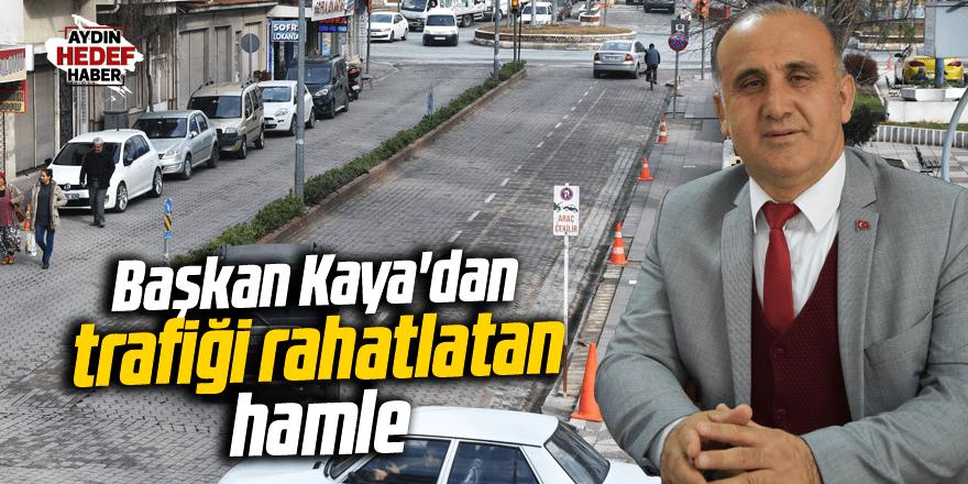 Başkan Kaya'dan trafiği rahatlatan hamle