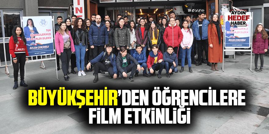 Büyükşehir'den öğrencilere film etkinliği