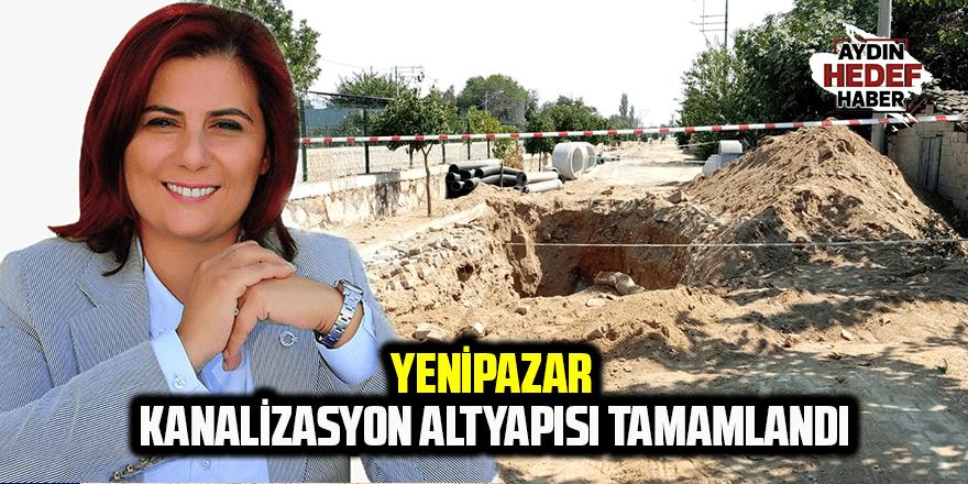 Çerçioğlu, Yenipazar'ı kanalizasyon altyapısına kavuşturdu
