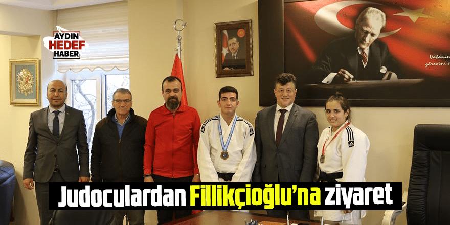 Judoculardan Fillikçioğlu'na ziyaret