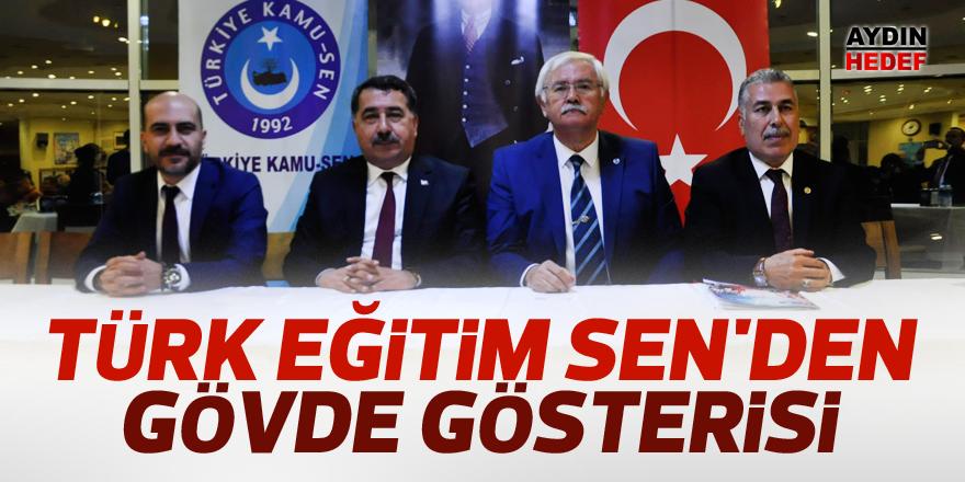 Türk Eğitim Sen'den gövde gösterisi