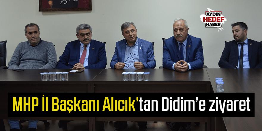 MHP İl Başkanı Alıcık'tan Didim'e ziyaret