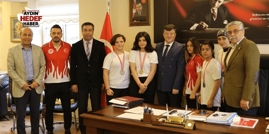 Sporcular'dan Filikçioğlu'na Ziyaret