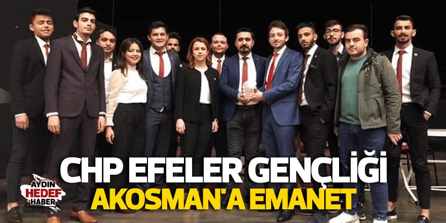 CHP Efeler Gençliği Artuğ Akosman'a emanet
