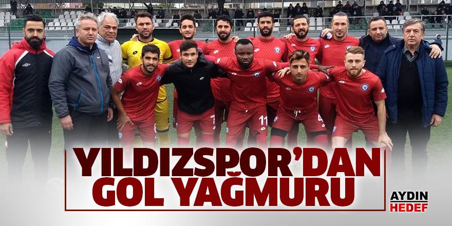 Yıldızspor'dan gol yağmuru