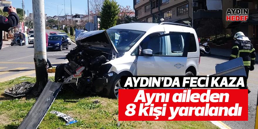 Aynı aileden 8 kişi yaralandı