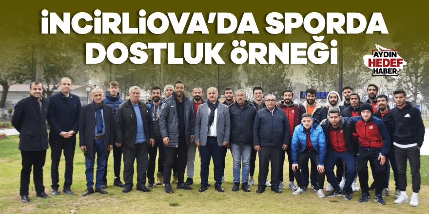 İncirliova'da sporda dostluğun örneği verildi