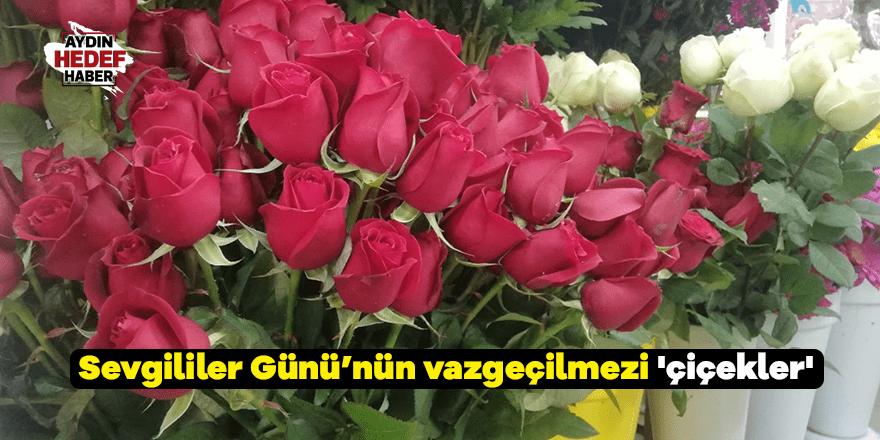 Sevgililer Günü'nün vazgeçilmezi 'çiçekler'