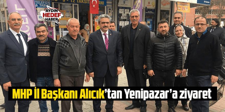 MHP İl Başkanı Alıcık'tan Yenipazar'a ziyaret