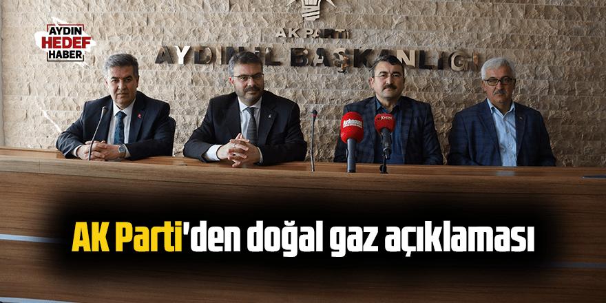 Aydın AK Parti'den doğal gaz açıklaması