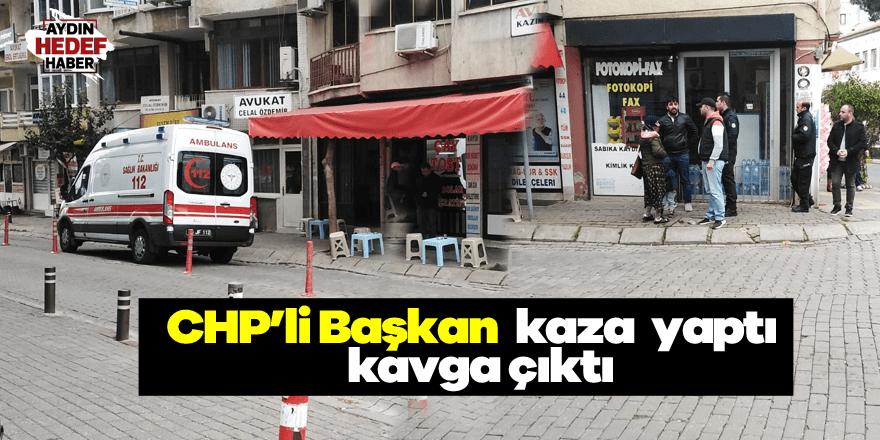 CHP'li başkan kaza yaptı