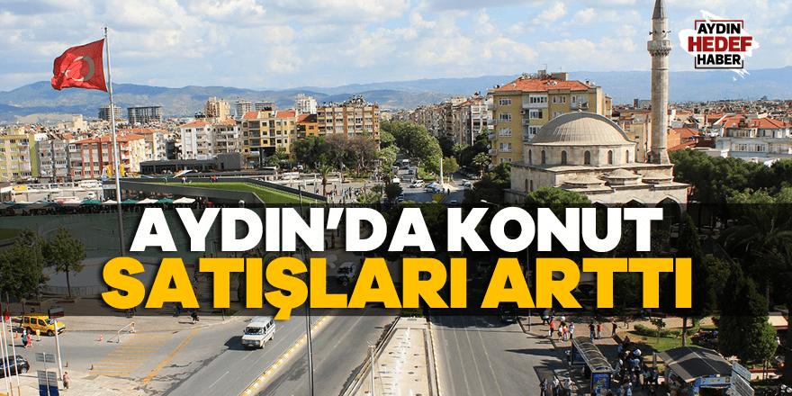Aydın'da konut satışları arttı