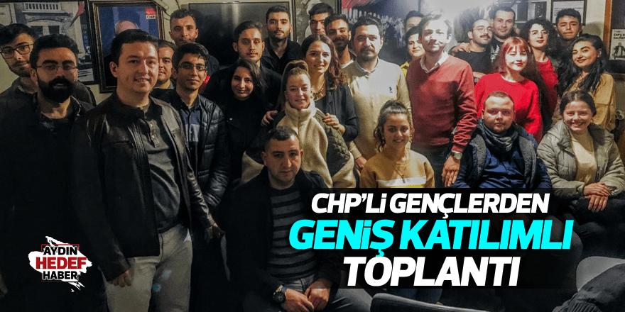 CHP'li gençlerden geniş katılımlı toplantı