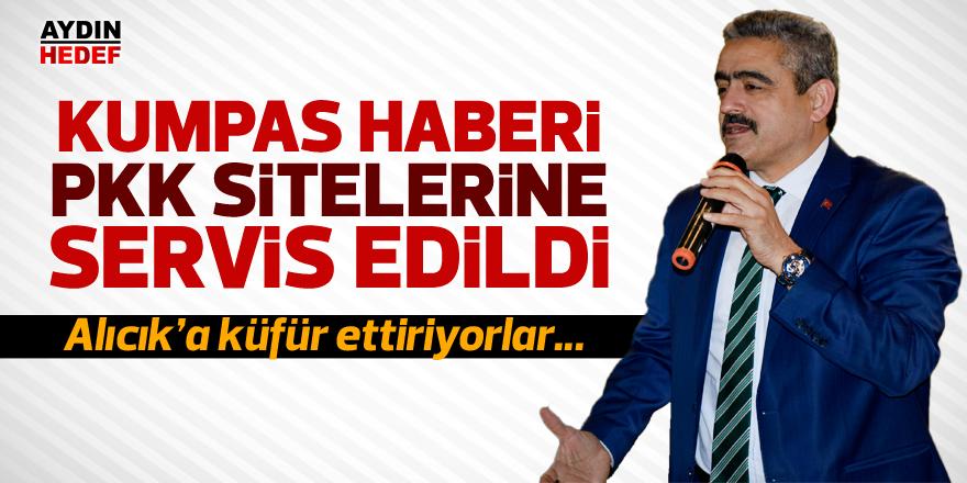 Kumpas haberi PKK sitelerine servis edildi
