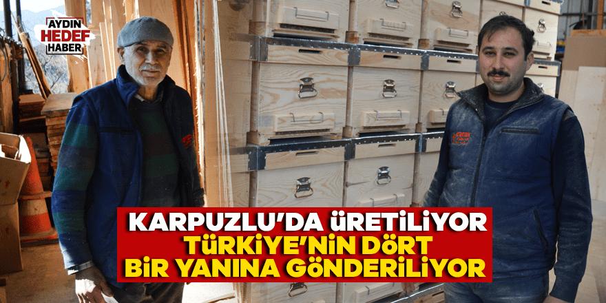 Karpuzlu'da üretiliyor Türkiye'nin dört bir yanına gönderiliyor