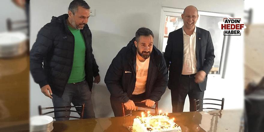 Taşçı'ya doğum günü sürprizi