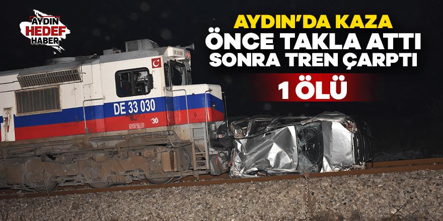 Germencik'te tren kazası: 1 ölü