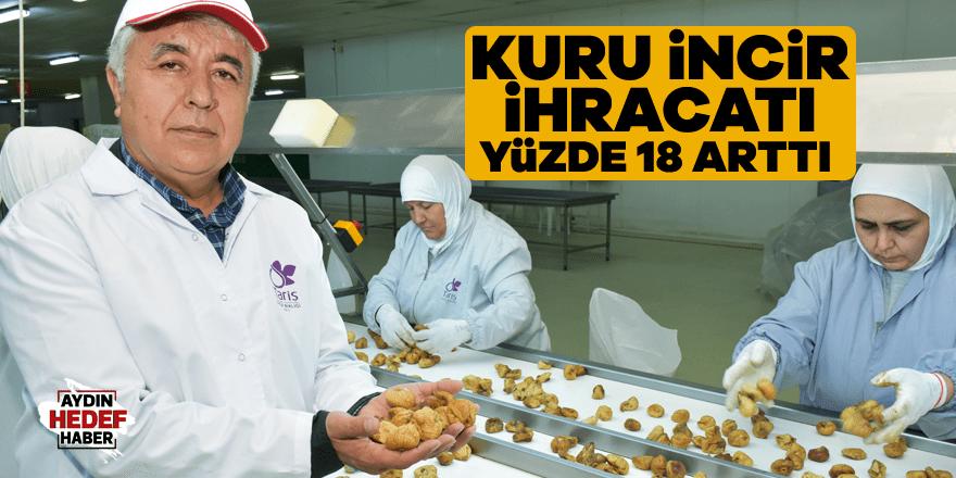 Kuru incir ihracatı yüzde 18 arttı