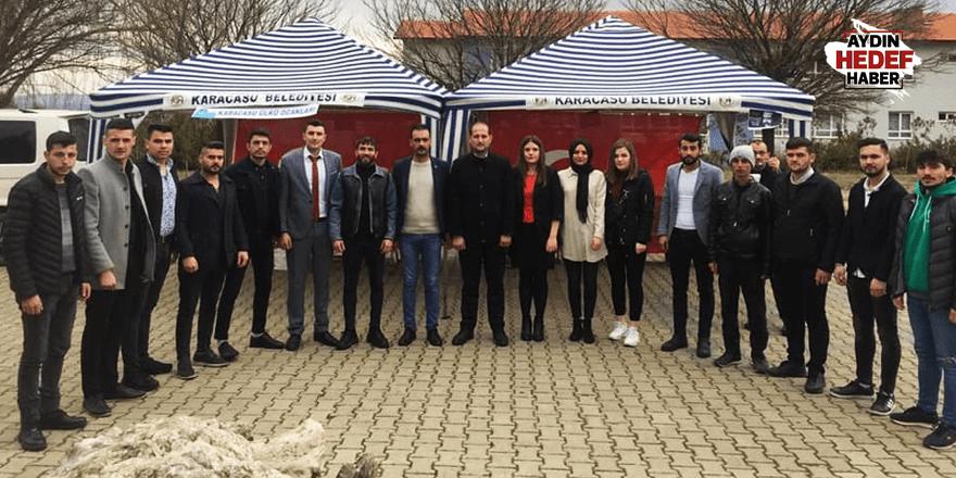 Ülkücü Şehit Fırat Çakıroğlu Karacasu'da dualarla anıldı